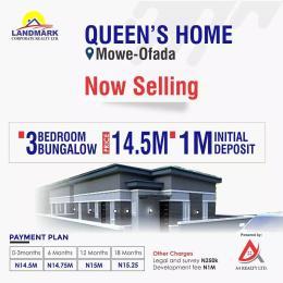 3 bedroom Semi Detached Bungalow for sale Mowe Obafemi Owode Ogun