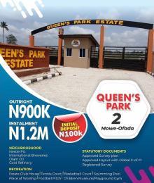 Residential Land Land for sale Mowe ofada  Mowe Obafemi Owode Ogun