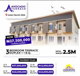 3 bedroom Terraced Duplex for sale With Bq Isheri North Ojodu Lagos