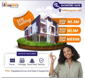 Residential Land for sale Odoiragunshi Epe Lagos