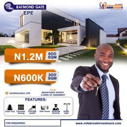 Residential Land for sale Odoiragunshi, Epe Lagos