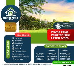 Serviced Residential Land Land for sale Opposite Christopher University Mowe Obafemi Owode Ogun