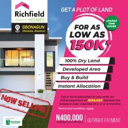 Residential Land Land for sale Gbonagun, Abeokuta Eleweran Abeokuta Ogun