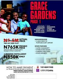 Residential Land Land for sale Omuanwa Ikwerre Rivers