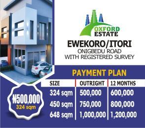 10 bedroom Land for sale Onigbedu Road Ewekoro Ogun