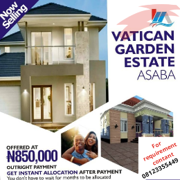 Hotel/Guest House Commercial Property for sale Behind Asaba airport and 2nd Niger bridge proposed link road Asaba Delta
