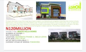 5 bedroom Semi Detached Duplex House for sale Free trade zone, dangote refineries, close to seaport construction, Ibeju Lekki. Lagos Free Trade Zone Ibeju-Lekki Lagos