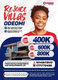Mixed   Use Land Land for sale Ode omi Ibeju-Lekki Lagos