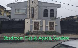 3 bedroom Flat / Apartment for rent Adebola ojomu street  Aguda Surulere Lagos