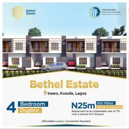 4 bedroom Terraced Duplex for sale Irawo Kosofe Kosofe/Ikosi Lagos