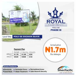 Residential Land for sale Royal County 111 Okun Ise Village Ise town Ibeju-Lekki Lagos