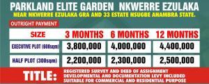 Residential Land Land for sale Nkwelle Ezunaka Ayamelum Anambra