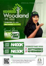Residential Land for sale Highbridge Woodland Estate Epe Lagos Nigeria Epe Road Epe Lagos