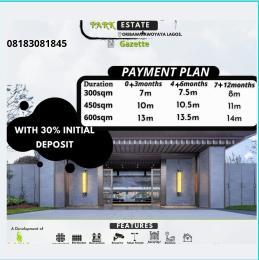 Residential Land Land for sale Irvin Estate Awoyaya Oribanwa Ibeju-Lekki Lagos