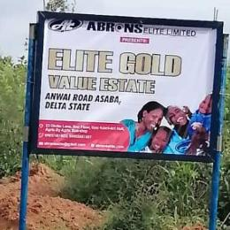 Mixed   Use Land Land for sale Elite Gold Value Estate Anwai Road 3 minutes drive to Asaba government house  Asaba Delta