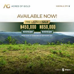 Residential Land for sale Igbonla Epe Lagos