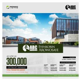 Residential Land Land for sale VIP Garden Eyenkorin Ilorin Kwara