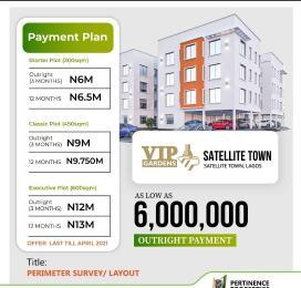 Residential Land Land for sale VIP Garden satellite town  Festac Amuwo Odofin Lagos