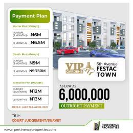 Residential Land Land for sale VIP Garden Estate End of 6th Avenue Festac Town Festac Amuwo Odofin Lagos