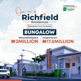 3 bedroom Detached Bungalow for sale Off Lagos Abeokuta Expressway Abeokuta Ogun