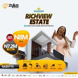 Residential Land for sale Akodo B4 Free Trade Zone, Richview Estate Ibeju-Lekki Lagos