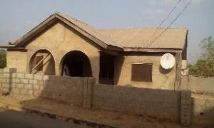 3 bedroom House for sale 1st 200 Housing Units, Along Ganaja Road Lokoja Kogi