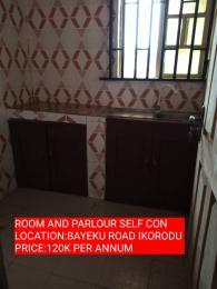 1 bedroom mini flat  Mini flat Flat / Apartment for rent edo street Igbogbo Ikorodu Lagos