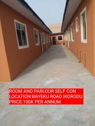 1 bedroom mini flat  Mini flat Flat / Apartment for rent KOLAWOLE Igbogbo Ikorodu Lagos