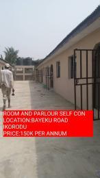 1 bedroom mini flat  Mini flat Flat / Apartment for rent oladipupo street macaulay bustop bayeku ikorodu LAGOS  Igbogbo Ikorodu Lagos
