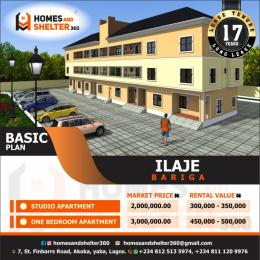1 bedroom Self Contain for sale Off Ilaje Road Bariga Shomolu Lagos
