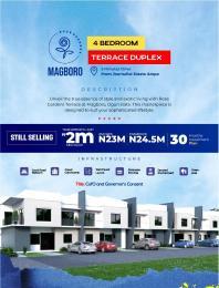 4 bedroom Semi Detached Duplex for sale Rose Garden, Magboro Obafemi Owode Ogun