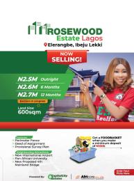 Residential Land for sale New Int' Airport Eleranigbe Ibeju-Lekki Lagos