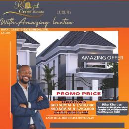 Residential Land Land for sale Eredo Epe Epe Road Epe Lagos