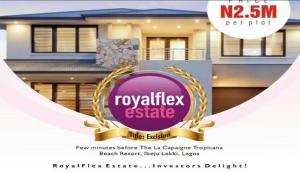 Serviced Residential Land Land for sale Otolu Village LaCampaigne Tropicana Ibeju-Lekki Lagos