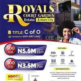 Residential Land for sale Alaro City, Royals Court Garden Estate Epe Lagos