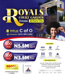 Commercial Land Land for sale Alaro City Epe Road Epe Lagos