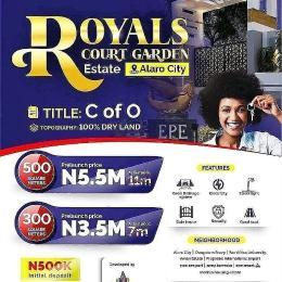 Residential Land for sale Royals Court Garden Estate, Alaro City Epe Road Epe Lagos