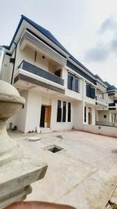 4 bedroom Semi Detached Duplex House for sale Cheveron drive  Lekki Phase 2 Lekki Lagos