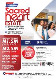 Serviced Residential Land Land for sale Asaba Delta
