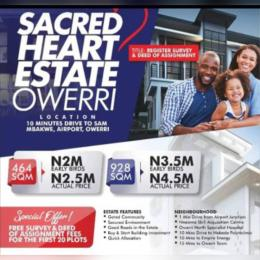 Land for rent Owerri Imo