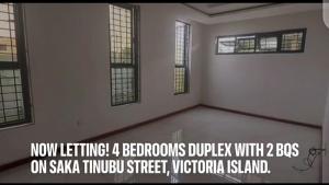 4 bedroom Detached Duplex House for rent Saka Tinubu Victoria Island Lagos