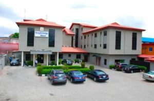 Hotel/Guest House Commercial Property for sale emina crs.off toyin str IKEJA,58 rooms suite on 4 plots Anthony Village Maryland Lagos