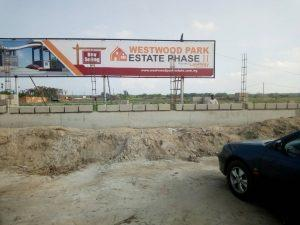 Land for sale The Estate is located on the Lekki-Epe Expressway, behind the Novera-Lekki Shopping Mall. Sangotedo Lagos
