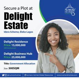 Mixed   Use Land for sale Idera Scheme Directly Facing Lakki Express Way Eleko Eleko Ibeju-Lekki Lagos