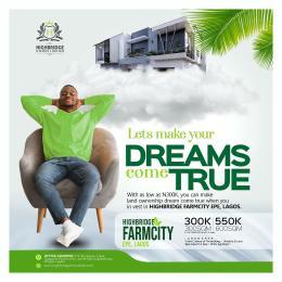Residential Land for sale Highbridge Farmcity At Odogbawojo Epe Lagos