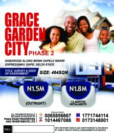 Mixed   Use Land Land for sale EGBORODE, ALONG BENIN-SAPELE WARRI EXPRESSWAY, OKPE,DELTA STATE Okpe Delta