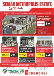 3 bedroom Residential Land Land for sale River Park Estate, Lugbe Abuja