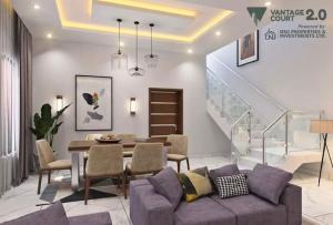 Semi Detached Duplex House for sale Within Richland Gardens, Shapati, along Lekki-epe expressway, Lagos Ajah Lagos