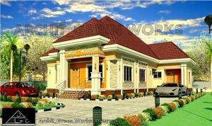 3 bedroom Detached Bungalow House for sale Block B Plot 1B, National Theatre / National Troupe Staff Housing Estate, Omu-Arogun road, off Mowe-Ofada Road, Mowe. Mowe Obafemi Owode Ogun
