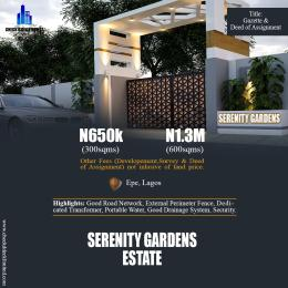 Residential Land Land for sale Epe Resorts and Spa Epe Road Epe Lagos